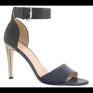 J. Crew color block heels